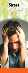In The Know: Stress- Your Survival Guide Pamphlet