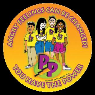 Power Pals Sticker