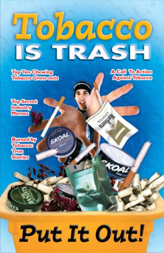 """Saying No!: Tobacco is Trash"" Mini-Mag"