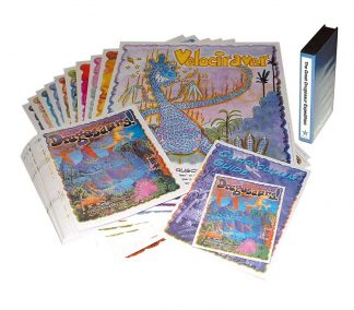 The Great Drugosaur Expedition VHS/DVD & Print Package | Activities for Kids