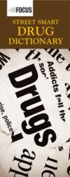 """""""Street Smart Drug Dictionary"""" Pamphlet"""