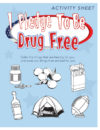 """I Pledge to Be Drug Free"" Activity Sheet"