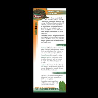 Info to Go: Smokeless Tobacco Rack Card