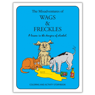 The Misadventures of Wags & Freckles Activity and Coloring Book