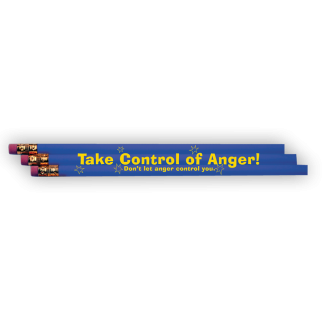 """""""Take Control of Anger"""" Pencil"""