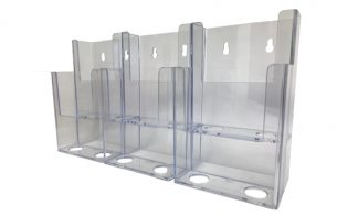 Information Center Acrylic Holder (6 Compartment)