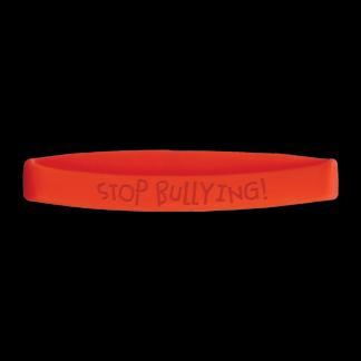"""Stop Bullying!"" Wristband"