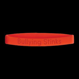 """Bullying Stinks"" Wristband"