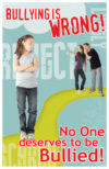"""Bullying is: Wrong"" Poster"