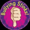 """""""Bullying Stinks"""" Sticker"""