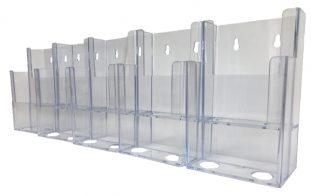 Information Center Acrylic Holder (10 Compartment)