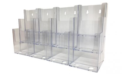 Information Center Acrylic Holder (12 Compartment)