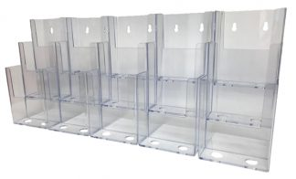 Information Center Acrylic Holder (15 Compartment)