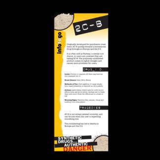 Info to Go: 2C-B Rack Card