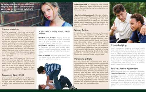 InFocus: A Parent's Guide: Bullying and Your Child Pamphlet-5912
