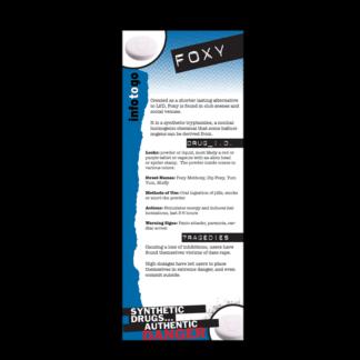 Info to Go: Foxy Rack Card