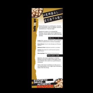 Info to Go: Herbal Ecstasy Rack Card