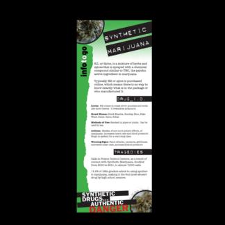 Info to Go: Synthetic Marijuana Rack Card