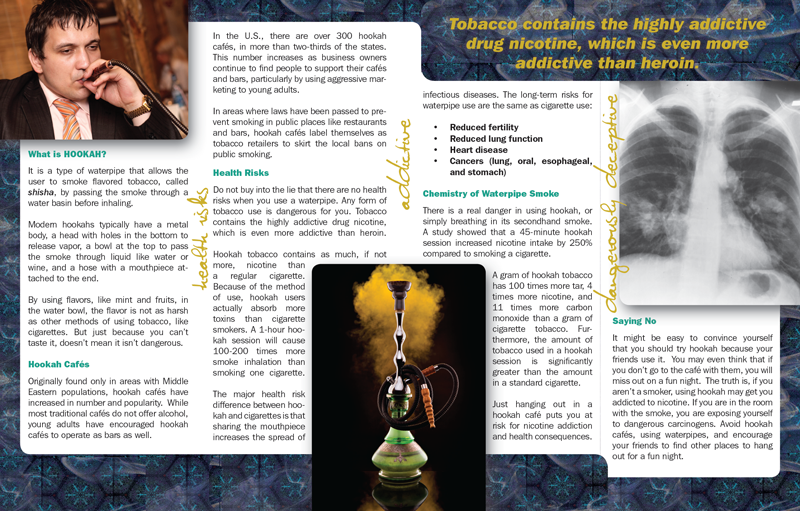 In the Know: Hookah - Pamphlet