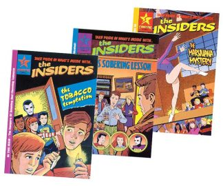 The Insiders Comic Book Package