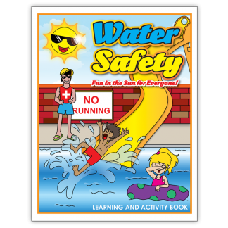 """""""Water Safety: Fun In The Sun For Everyone!"""" Activity Book"""