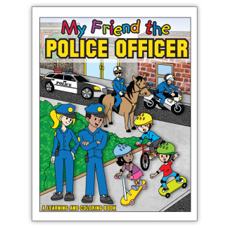"""""""My Friend the Police Officer"""" Activity Book"""