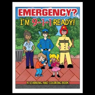 """Emergency? I'm 9-1-1 Ready!"" Activity Book"