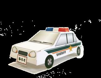 Sheriff Stock Pop-Up Cruiser