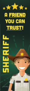 Sheriff Bookmark Front