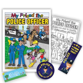 """""""Police – A Friend You Can Trust"""" KidPak"""