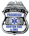 Custom Junior Paramedic Plastic Badge