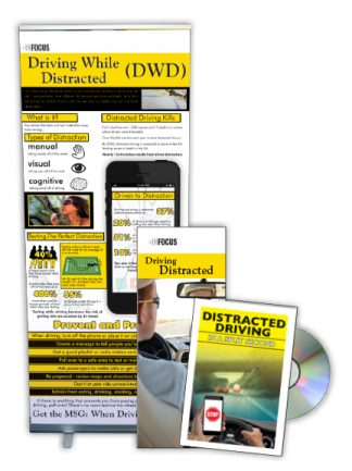 Distracted Driving DVD Package