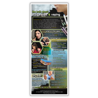 The Truth About E-Cigarettes & Vaping Presentation Card