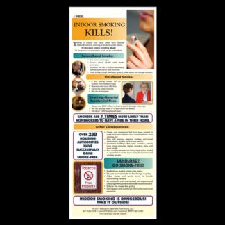 Indoor Smoking Kills! Presentation Card