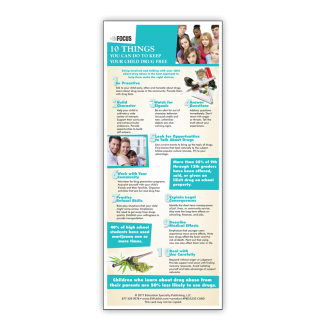 InFocus: Ten Things You Can Do to Keep Your Child Drug Free Presentation Card