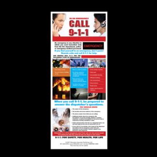 In an Emergency, Call 9-1-1 Presentation Card