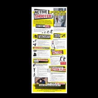 Active Shooter Presentation Card