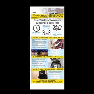 InFocus: Home Crime Prevention Presentation Card