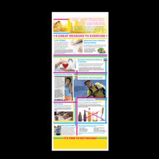 Get Motivated & Get Moving Presentation Card