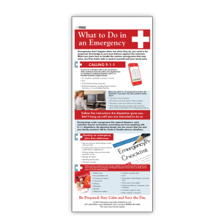 InFocus: What to do in an Emergency Presentation Card