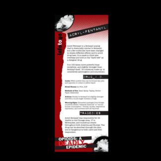 Info to Go: Acryl-Fentanyl Rack Card