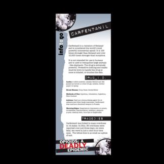 Info to Go: Carfentanil Rack Card
