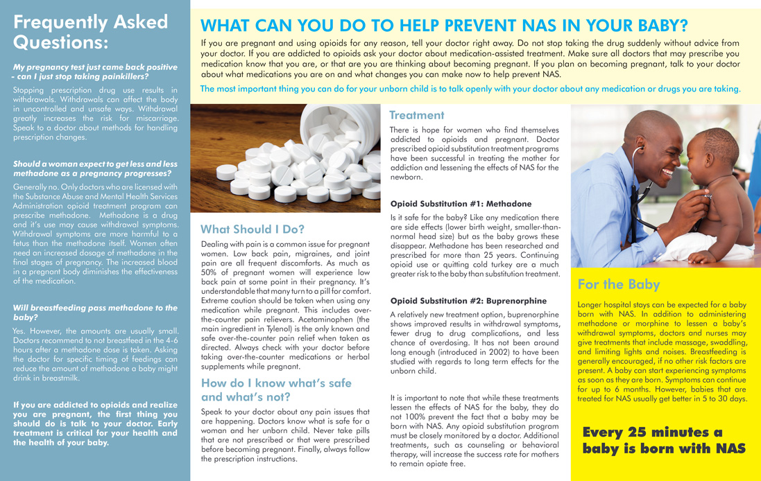 In Focus: Opioids and Pregnancy - Pamphlet