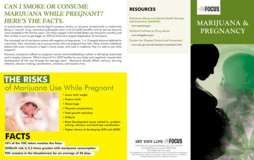 Marijuana and Pregnancy - Pamphlet