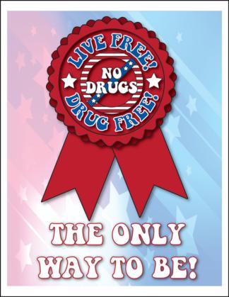 """Live Free! Drug Free!"" Activity Sheet"