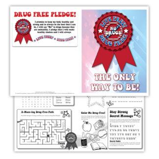 Live Free! Drug Free! Activity Sheet