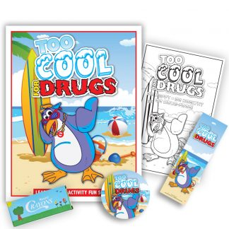 """Too Cool for Drugs"" KidPak"