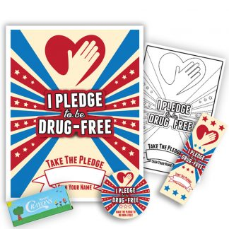 """I Pledge to be Drug-Free"" KidPak"