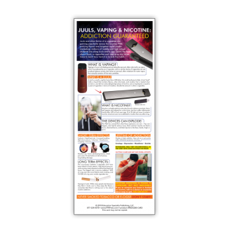 Vaping Synthetic Drugs Presentation Card