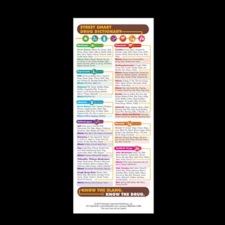 Street Smart Dictionary Presentation Card